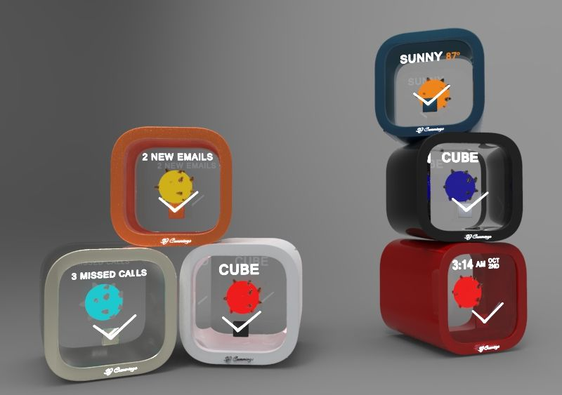 Sol Cube Novelty At Its Finest This Device Is A Holographic Cube