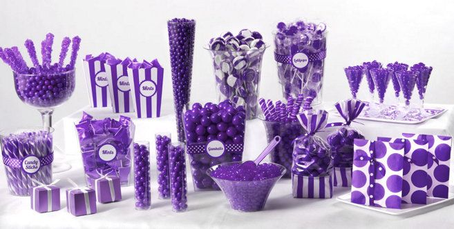 Purple Candy Buffet Party City Purple Candy Buffet Green Candy Buffet Candy Buffet Party