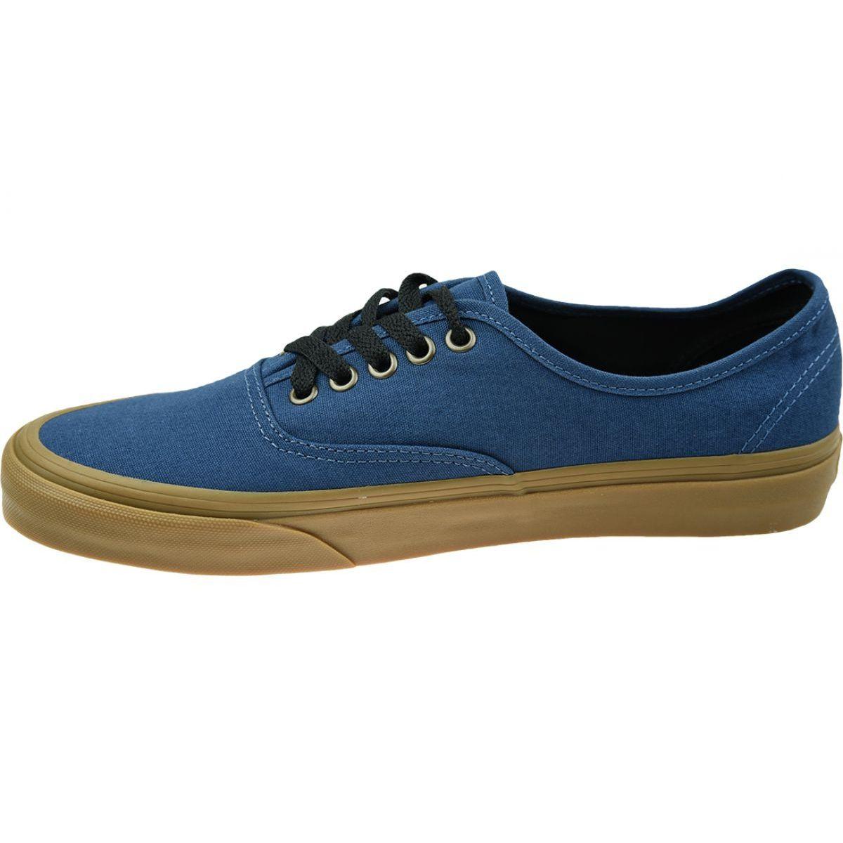 Buty Vans Ua Authentic M Vn0a38emu4c1 Niebieskie In 2021 Blue Shoes Vans Shoes
