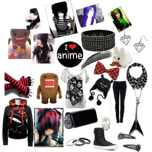 Scene Outfits, Emo Clothes For Girls