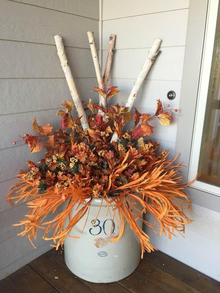 Décoration à thème automne charmante 20 idées Pinterest