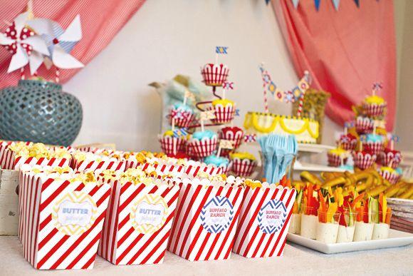kit anniversaire thème cirque