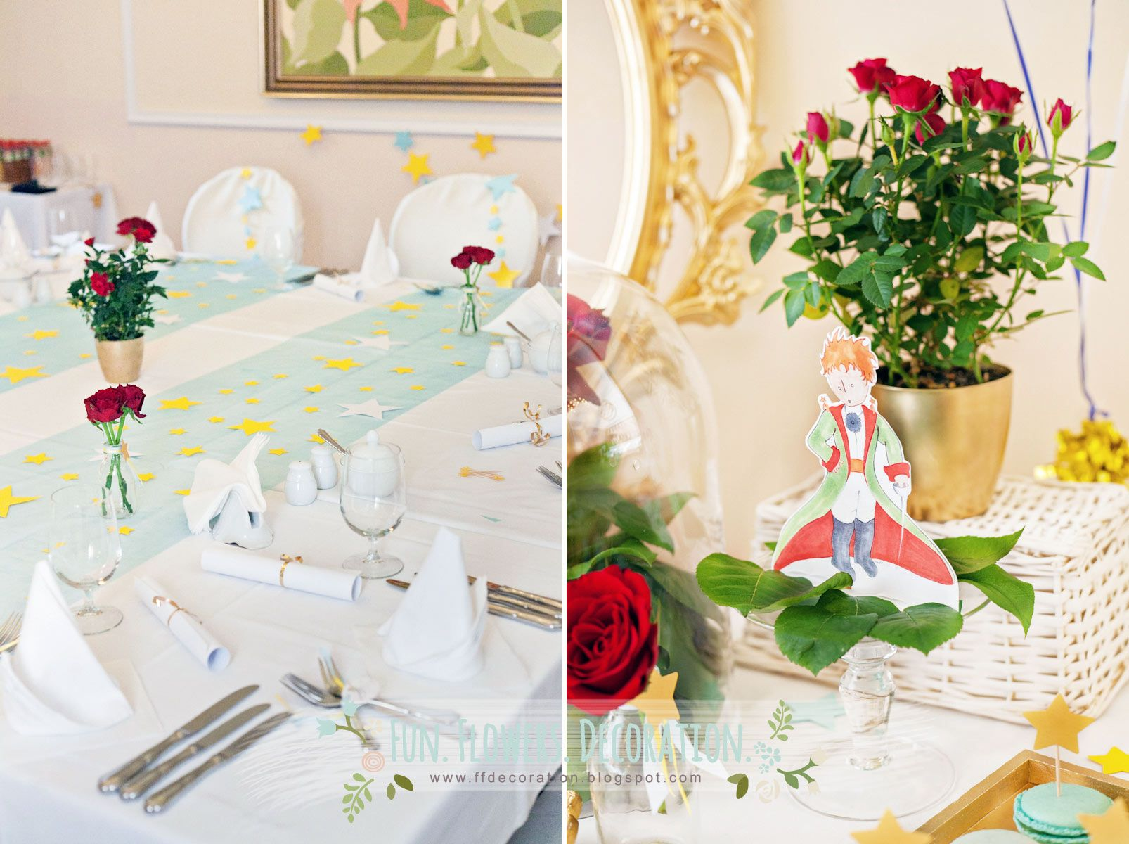 Little Prince Party Planning Ideas Supplies Idea Cake Decorations ...