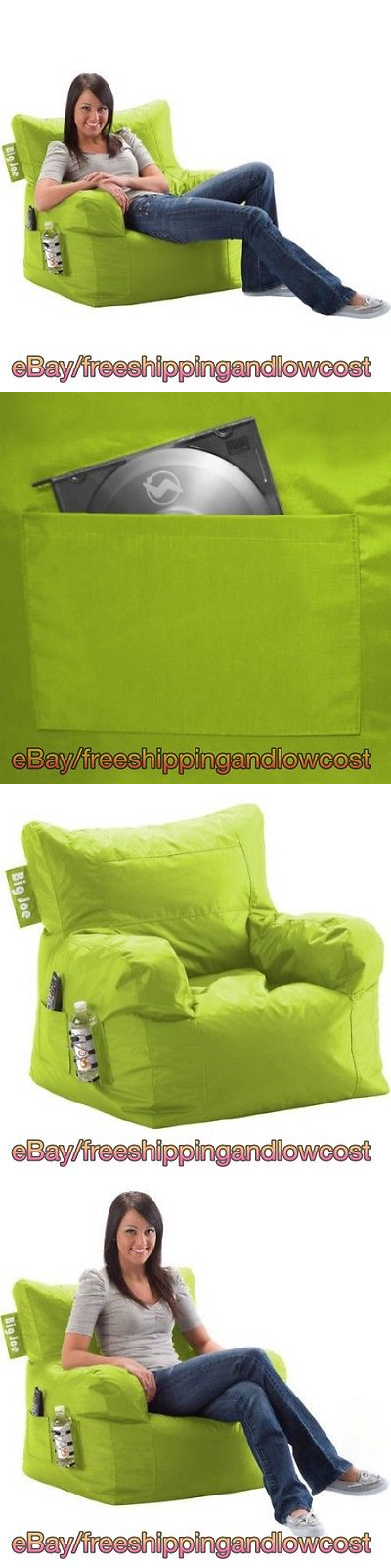 Bean Bags And Inflatables 108428 Bag Chair Waterproof Lime Color Sain Resistant Drink