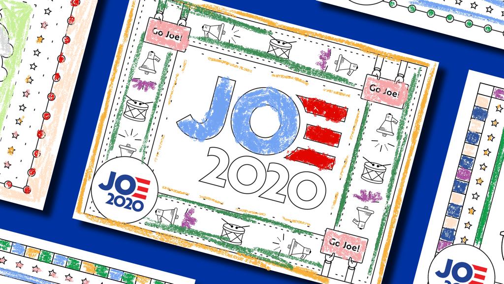 Coloring Pages Joe Biden For President Official Campaign Website Coloring Pages Family Entertainment Ice Cream Coloring Pages