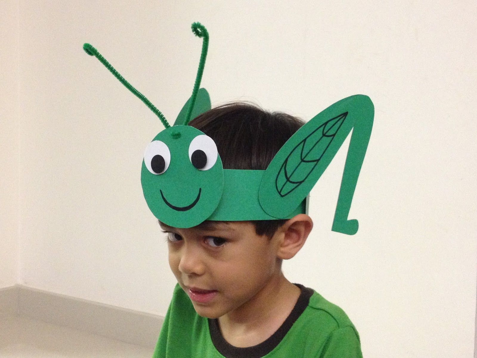 Easy To Make Kids Costumes Paper Cricket