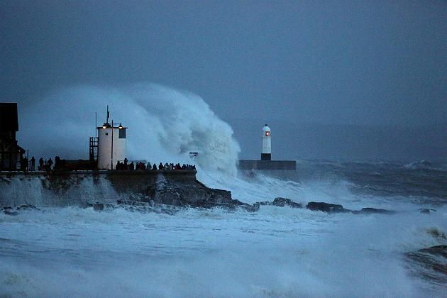 Atlantik, Sturm, Frankreich, Großbritannien, Extremwetter, Wetter