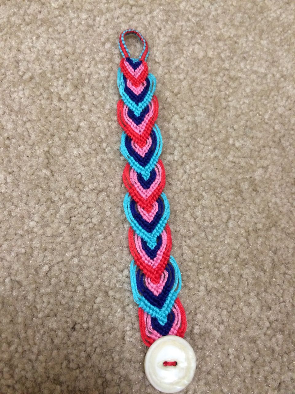 Image53g 9601280 Pixels Embroidery Floss Bracelets
