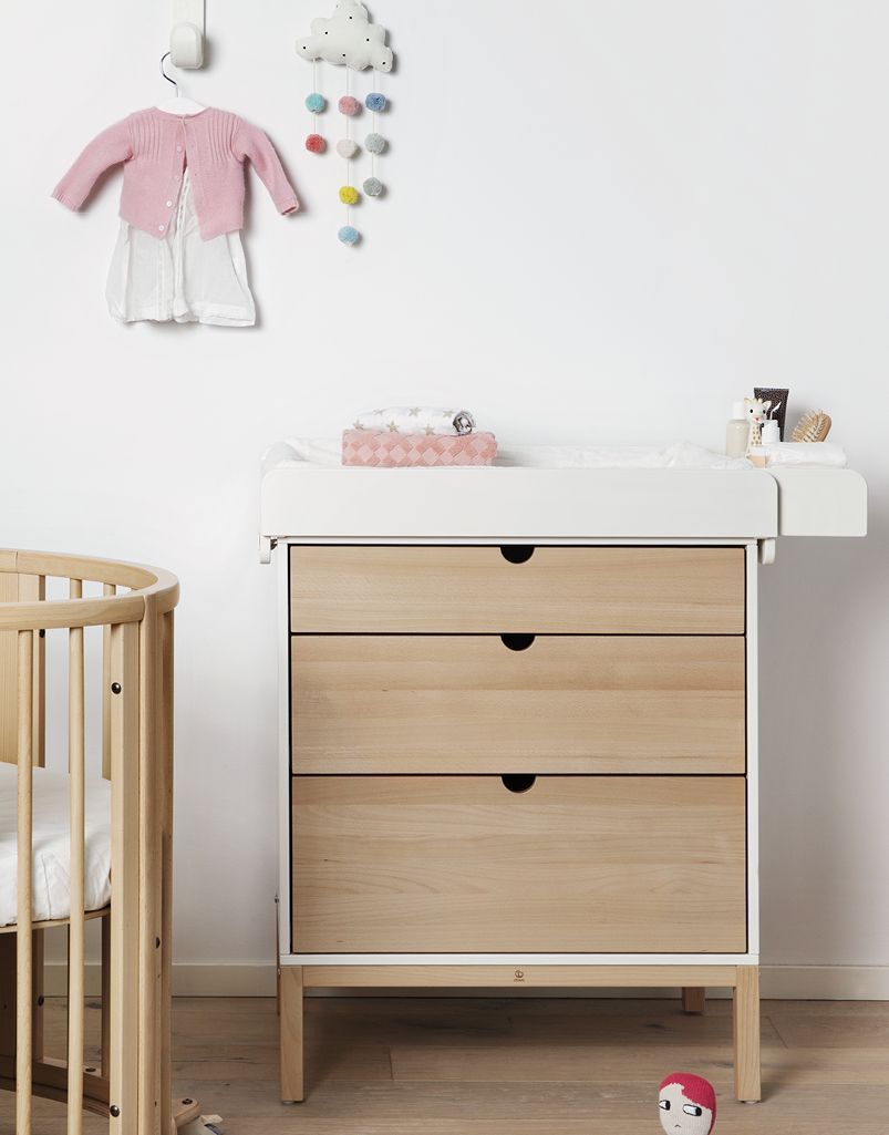 Commode #stokkehome naturel. #stokke #stokkebaby #commode #design ...