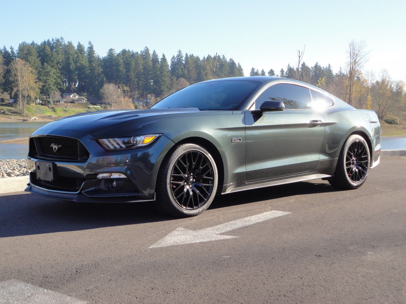Ebay 2016 Ford Mustang Gt 2016 Mustang Gt Premium With