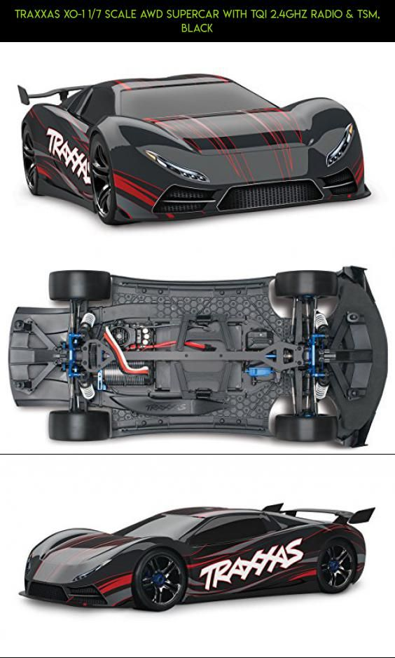 Traxxas Xo 1 1 7 Scale Awd Supercar With Tqi 2 4ghz Radio Tsm Black Racing Kit Fpv Parts Camera Drone Shopping Products Plan Traxxas Super Cars Awd