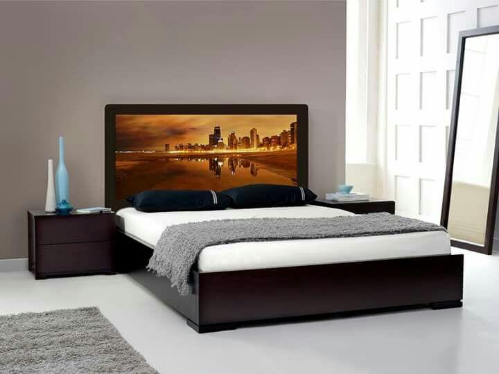 cortinas #respaldo #respaldares #cama #dormitorio #mesa #mesitas ...