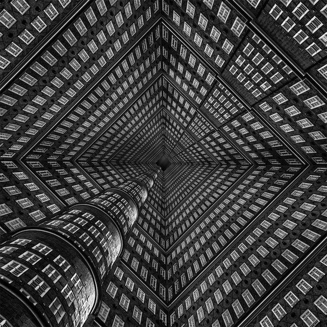 Ik krijg hoogtevrees van deze optische (architectuur)illusies | The Creators Project
