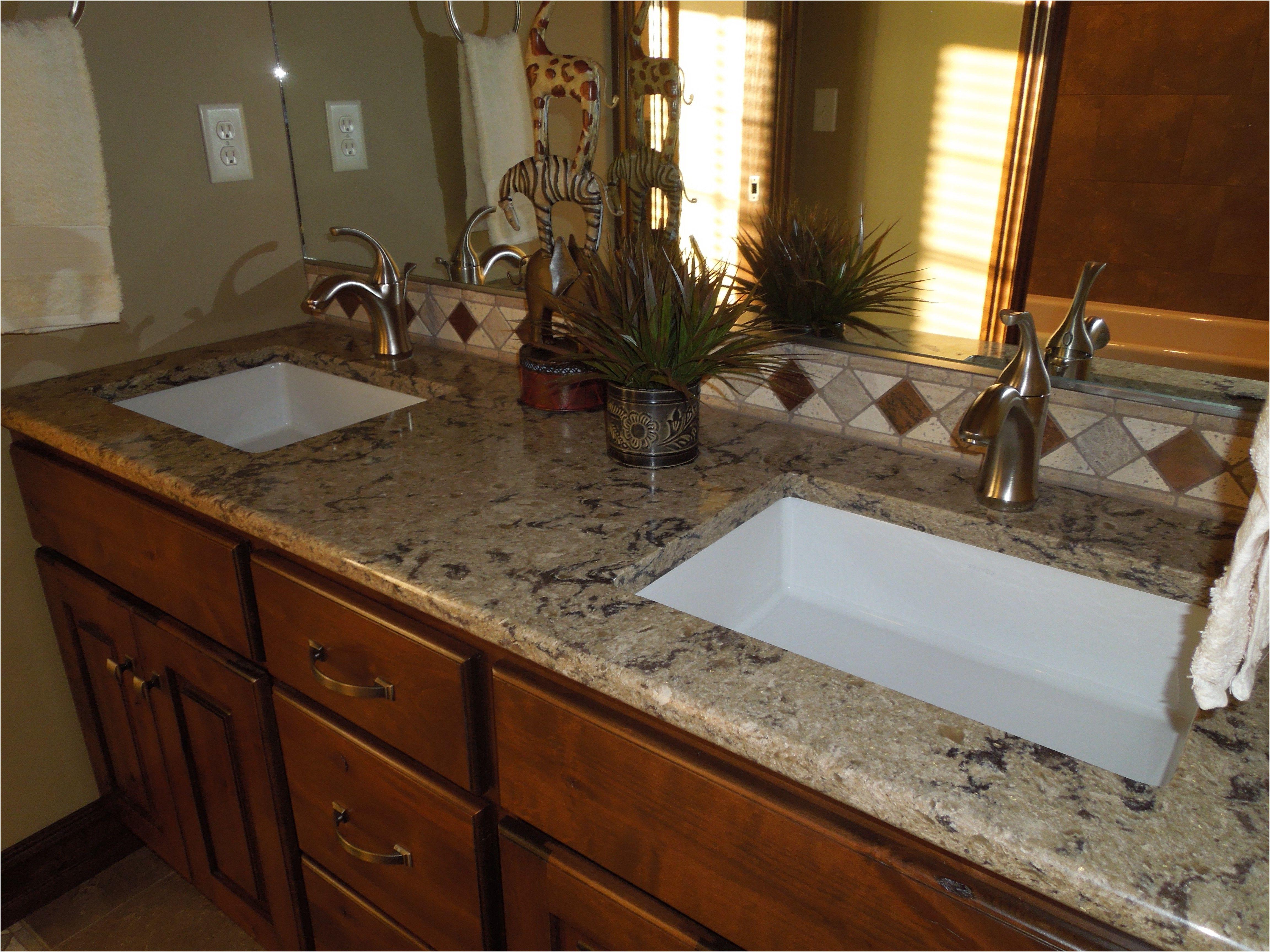 Fresh Premade Bathroom Countertops Dengan Gambar
