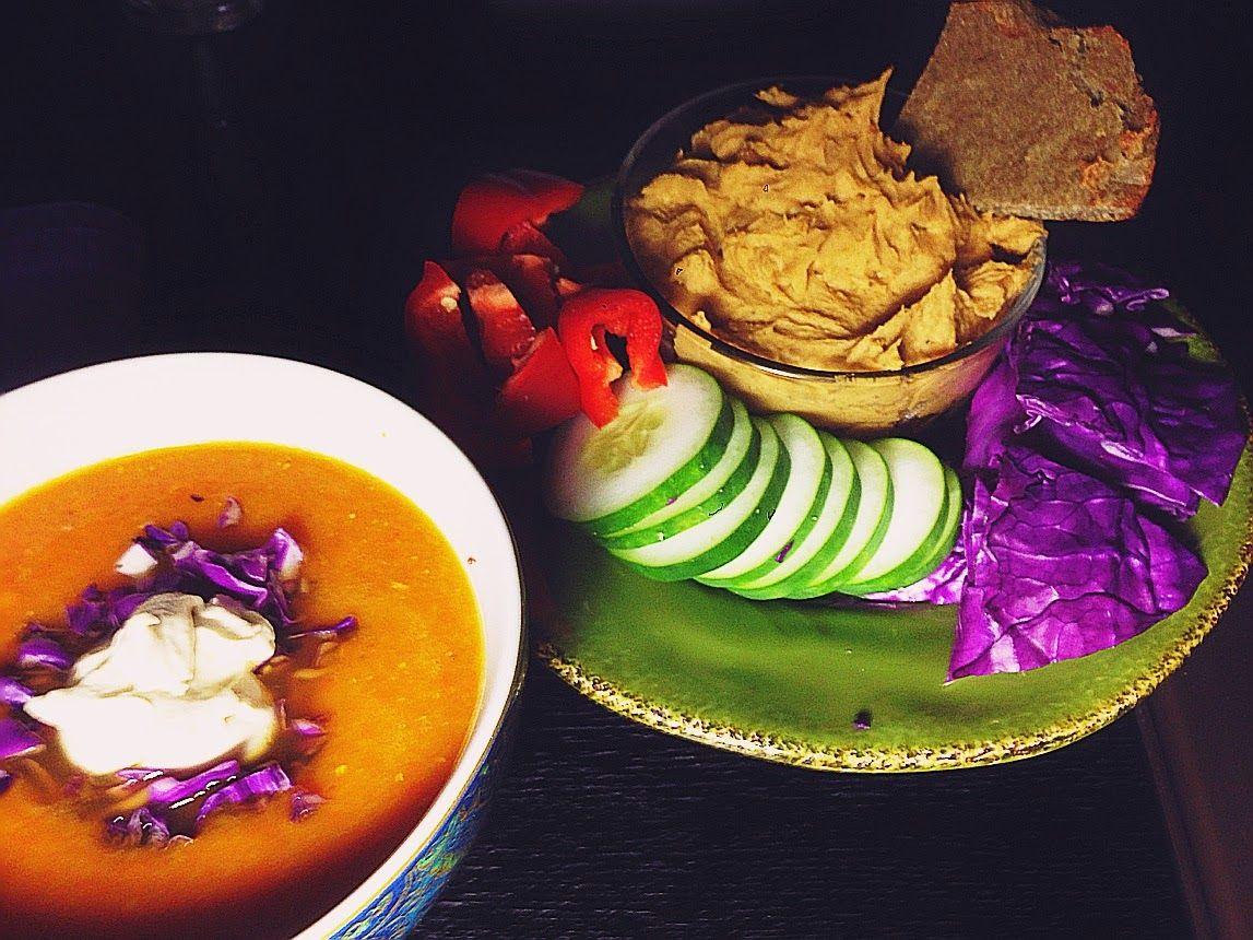 BYOL Cuminspiced Hummus and Glutenfree Lentil Flatbre