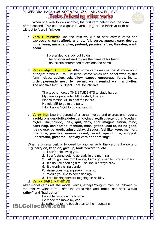 Uncategorized Infinitives Worksheet gerund and infinitive bare upper intermediate level worksheet free esl printable worksheets made by teachers