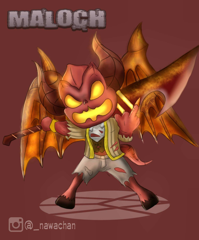 Maloch Don AOV Arena Of Valor Pinterest