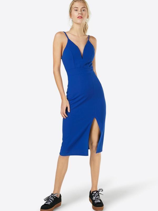 Cocktailjurk Lichtblauw.Wal G Cocktailjurk Midi In Blauw Bij About You Bestellen Geen
