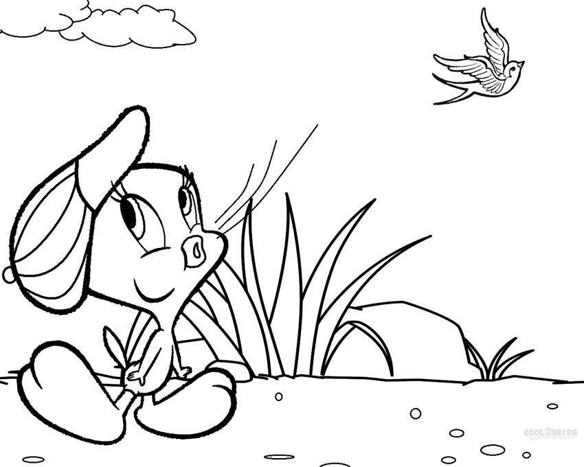 Printable Tweety Coloring Pages For Kids | Cool2bKids | coloring ...