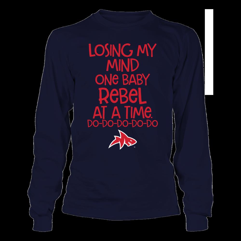 Ole Miss Rebels Losing My Mind Baby Shark Ole Miss Rebels Shark T Shirt Lose My Mind