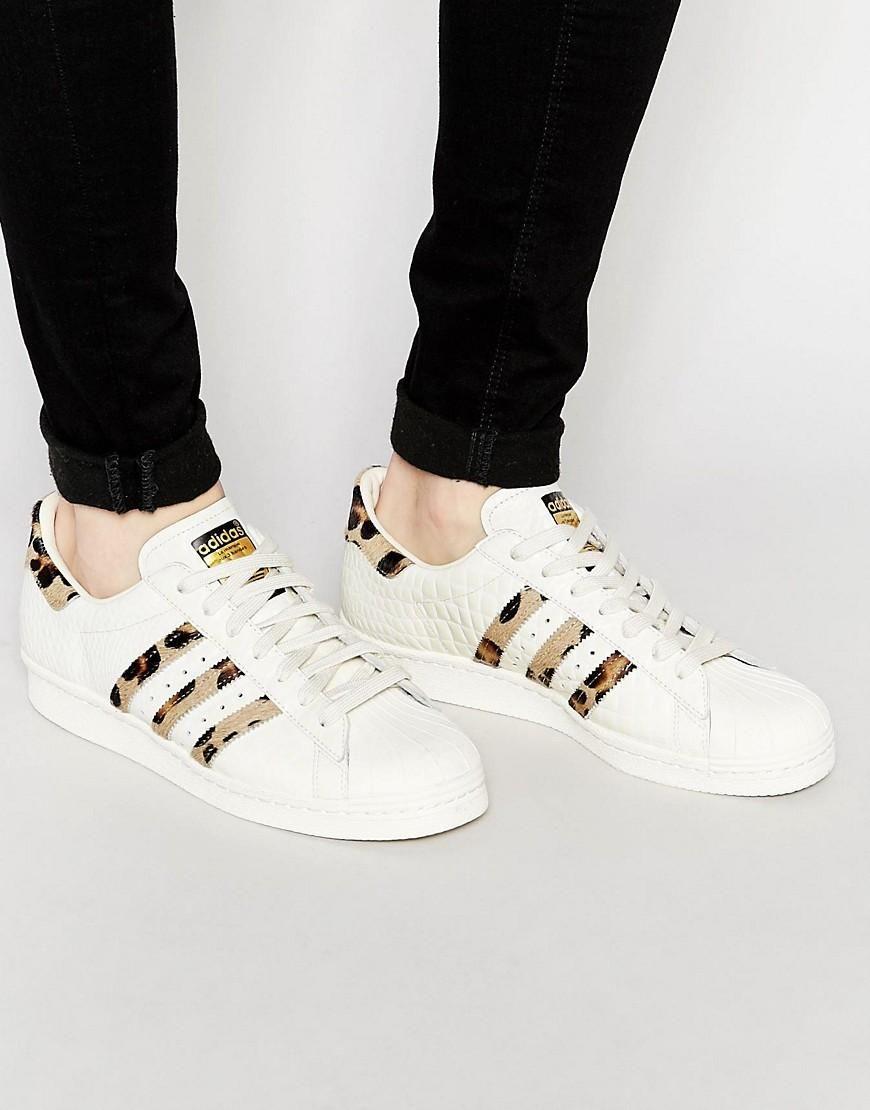 Adidas Originals Superstar 80's Pony Effect - White