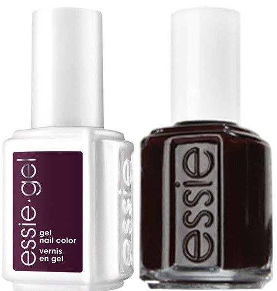 Essie Gel Wicked #249G + Matching Lacquer Wicked #249