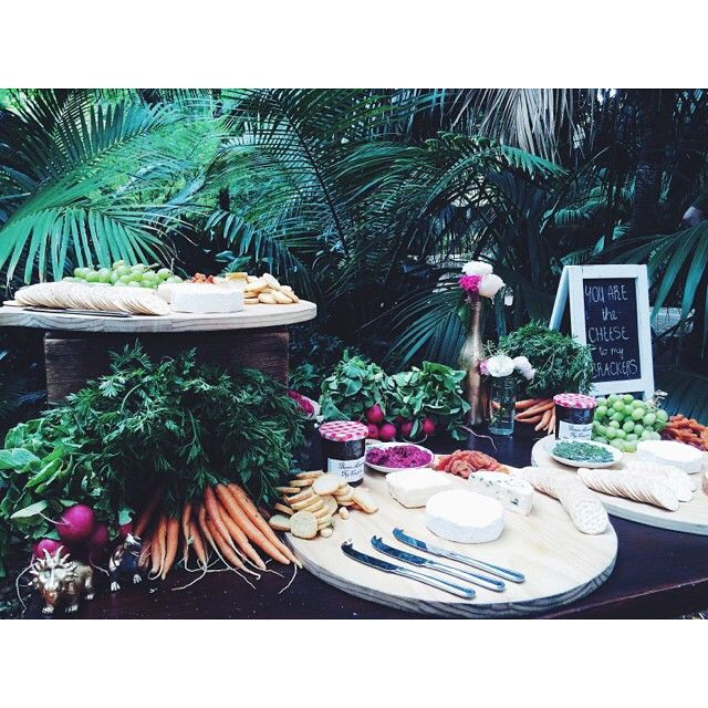 butcher baker stylist creator. Grazing Table. Reception style.