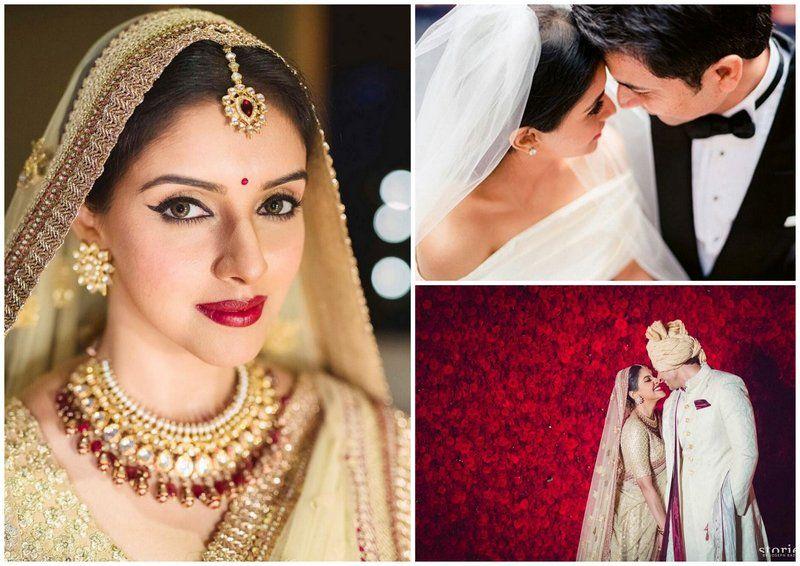 Asin Thottumkal And Rahul Sharma Wedding Album Photos Fashion Design Mag Celebrity Bride Wedding Album Beutiful Girls