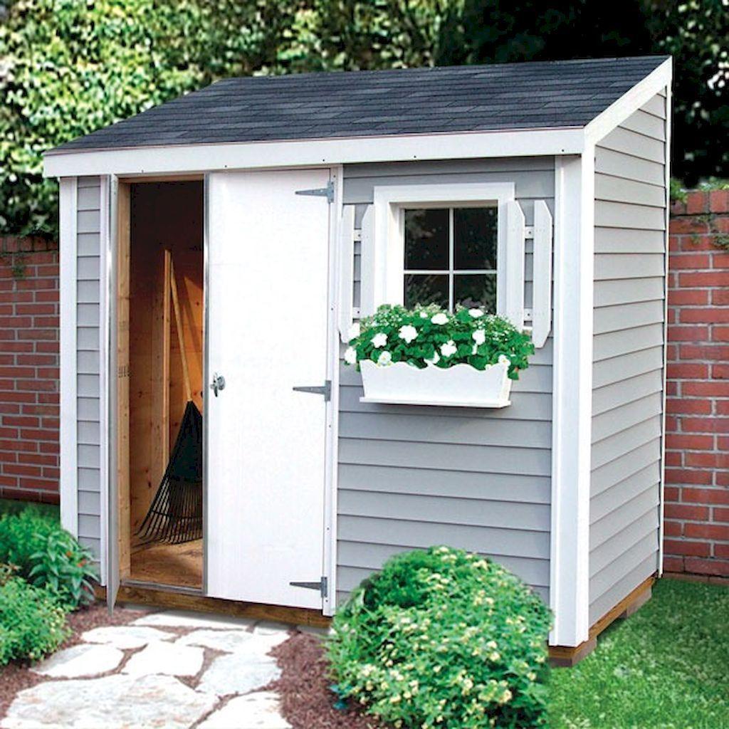 incredible backyard storage shed