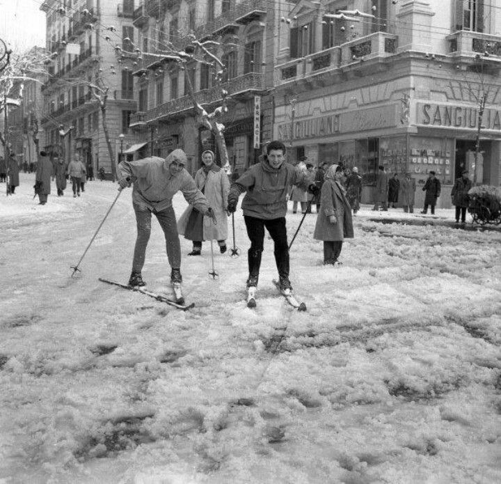 Let it snow - Napoli 1956