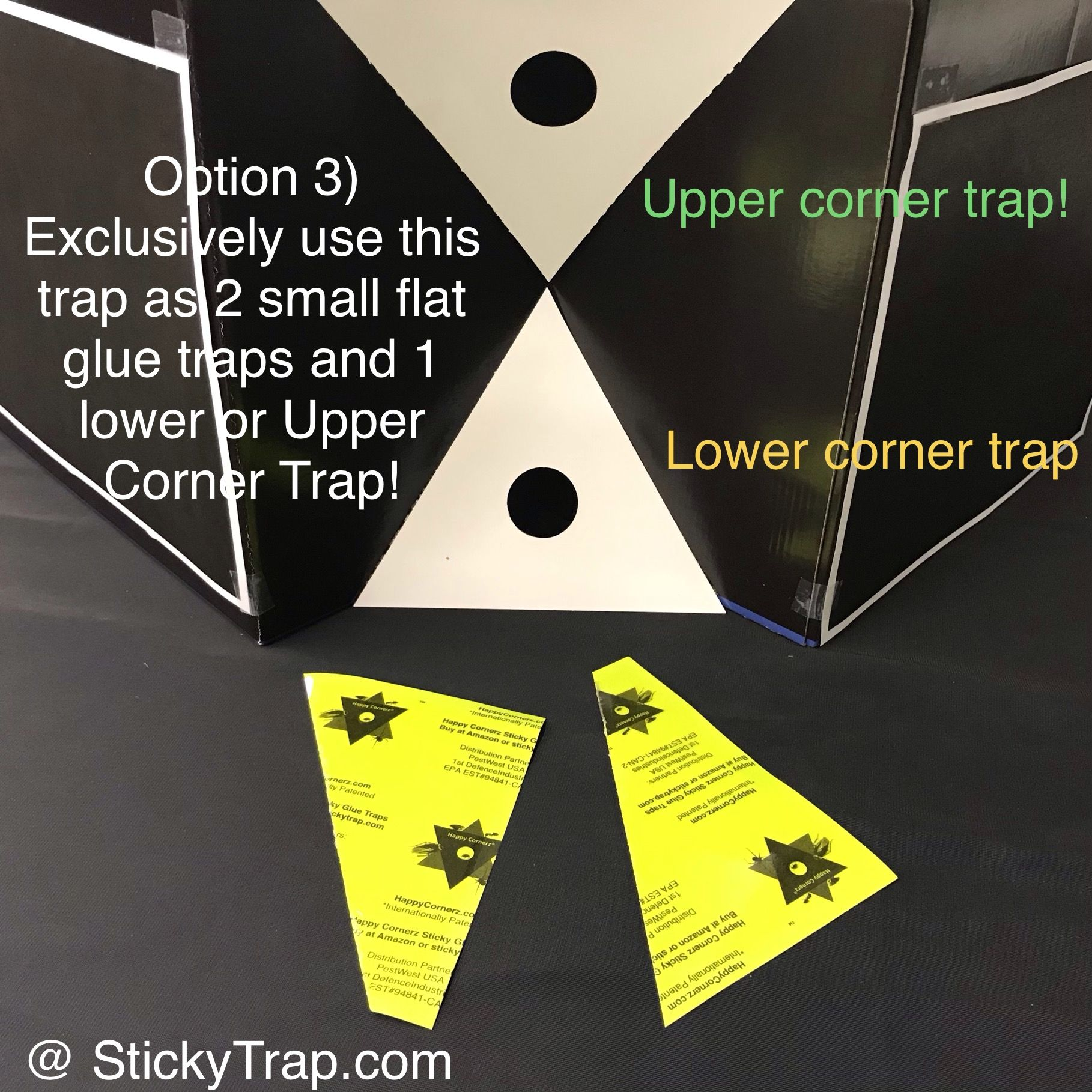 Happy Cornerz® 5 in 1 Sticky Traps in 2020 Glue traps
