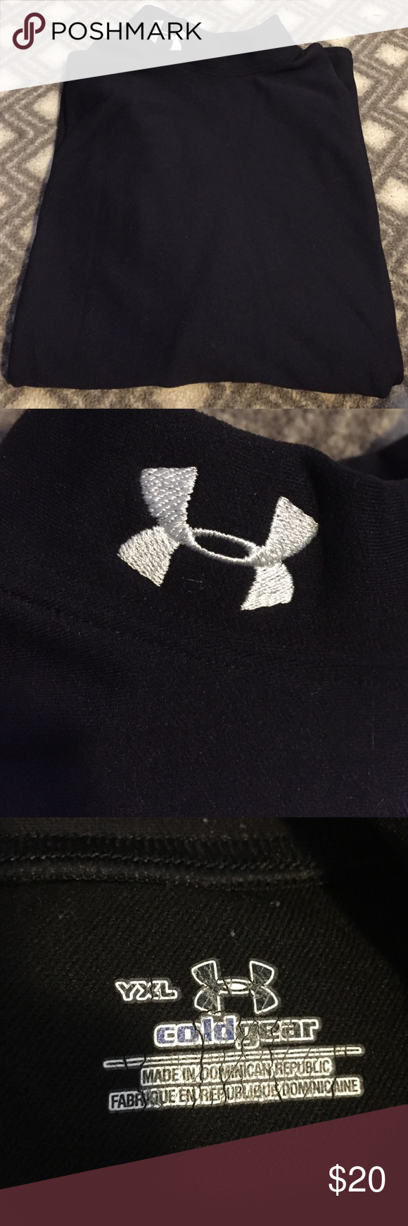 Under Armour Cold Gear Youth XL long sleeve, turtleneck. Still in great condition. No holes or rips. Under Armour Other
