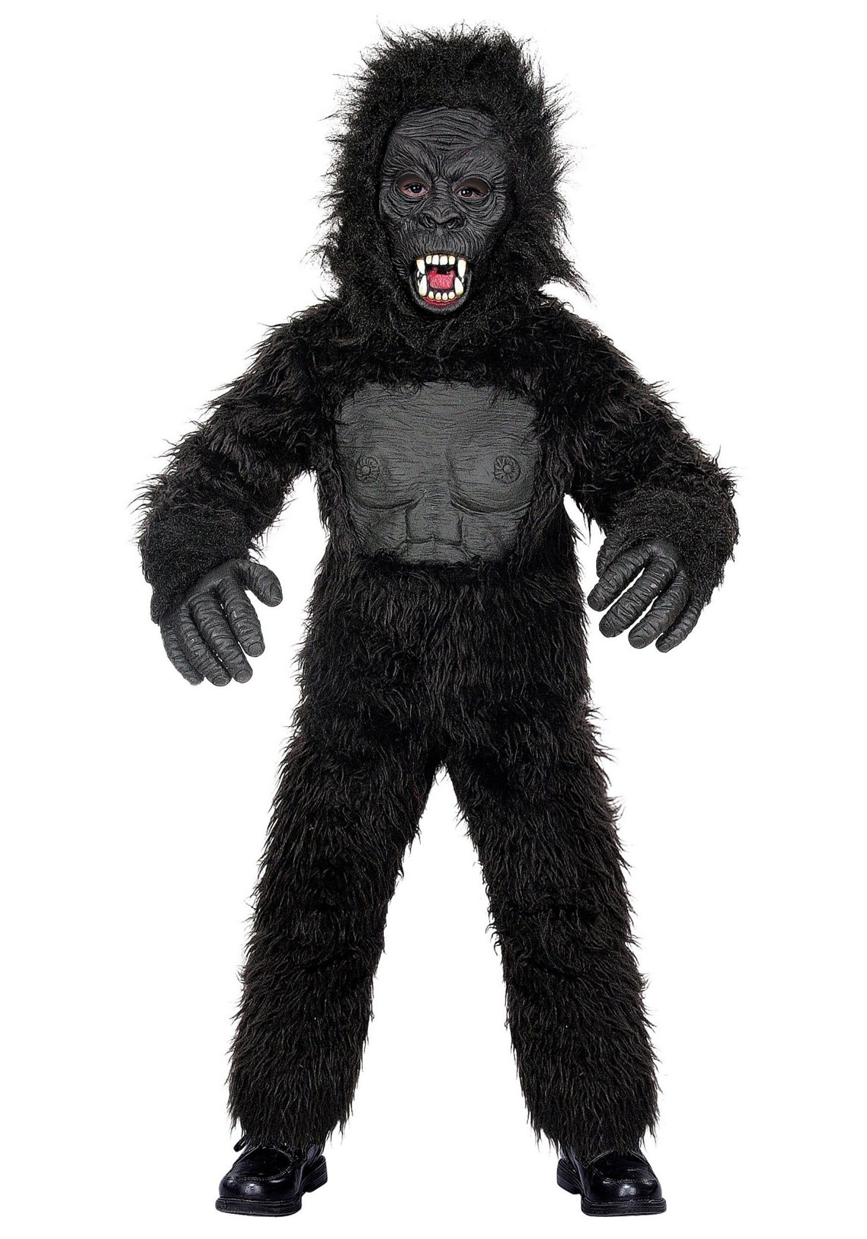 Hairy gorilla haloween costumes