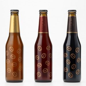 Coffee Beer Bottle By Nendo Beer Bottle Design Beer Bottle Sticker Bottle Stickers