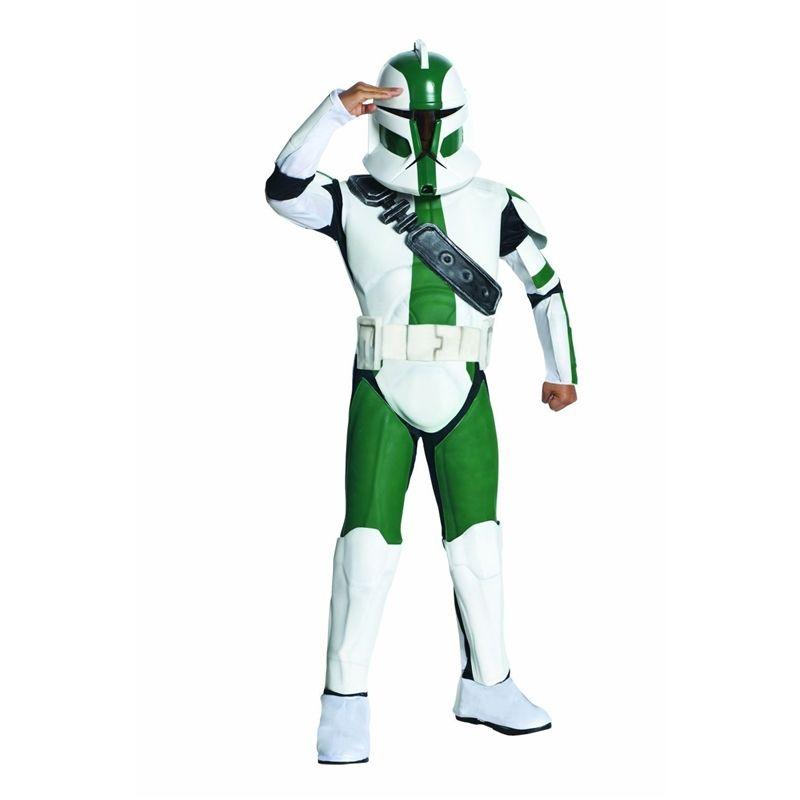 Star Wars Clone Trooper Gree Child Costume Star Wars Costumes Star Wars Clone Wars Clone Trooper Costume