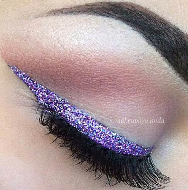 27 Amazing Eyeliner Ideas You Need To Try #glittereyeliner