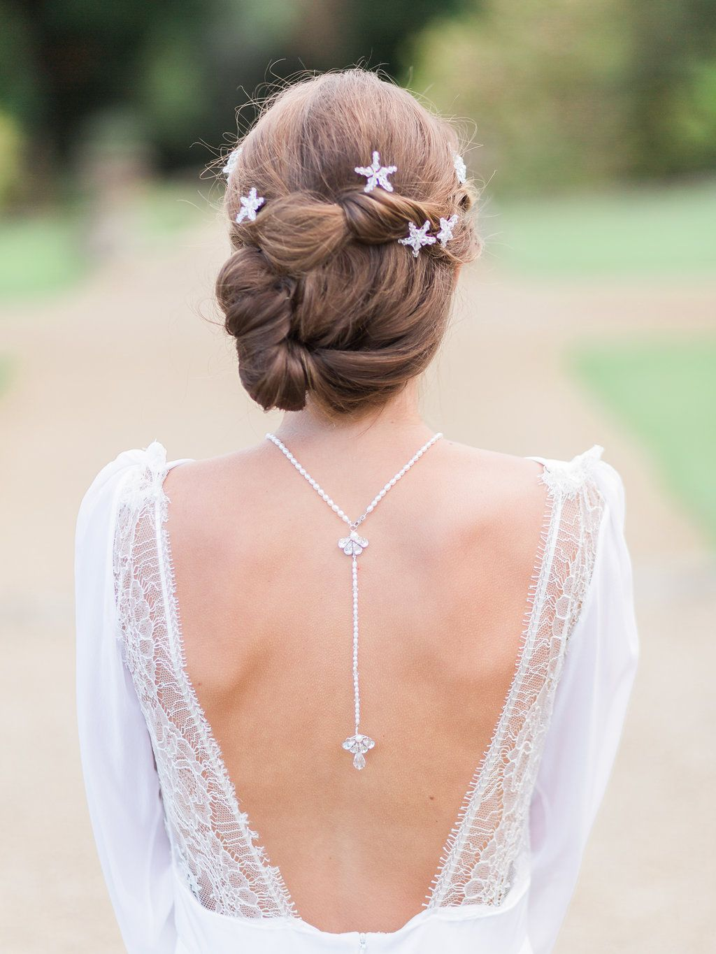 Hermione harbutt deco back necklace and orion hairpins amy fanton