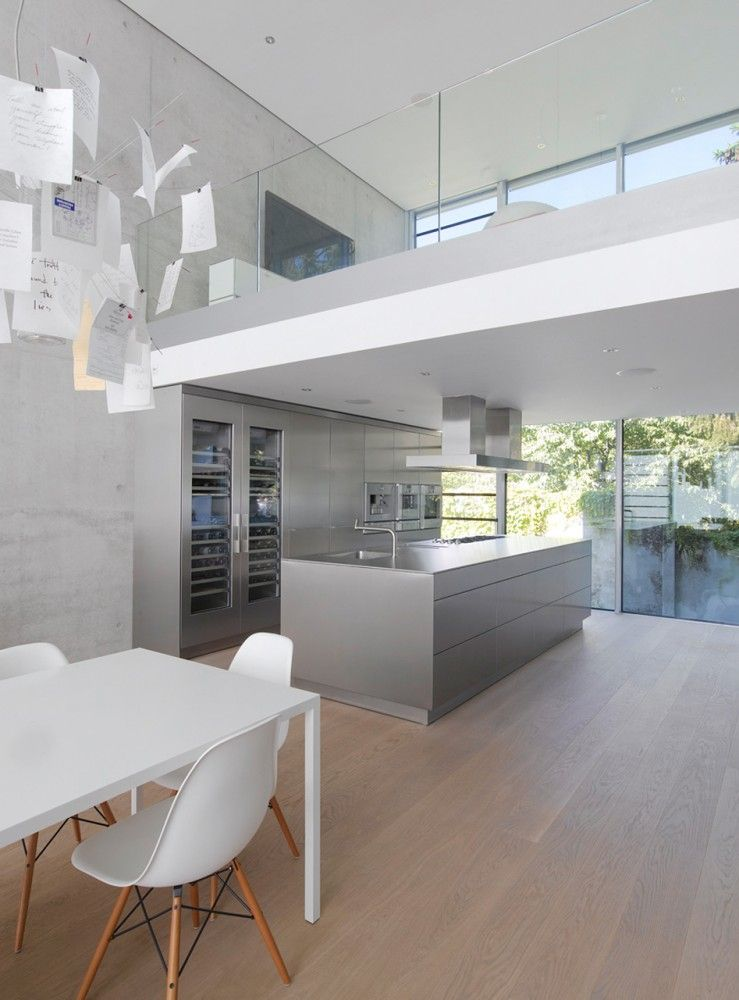 German Architect Roger Christ Designed A Home That's Simplified Fascinating Dining Room In German Design Inspiration