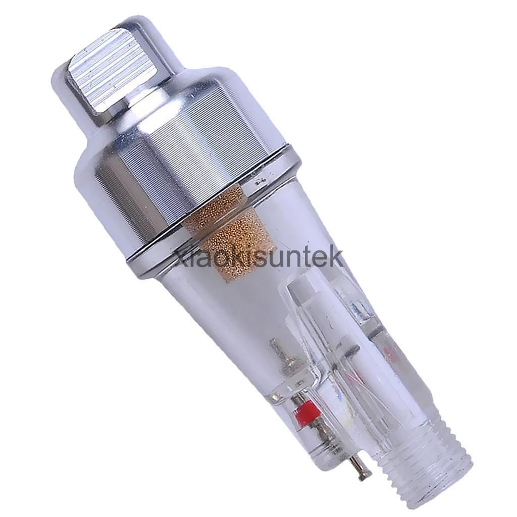 """Air Filter In-line Moisture Water Trap 1//8/"""" Fitting Hose for Airbrush"""