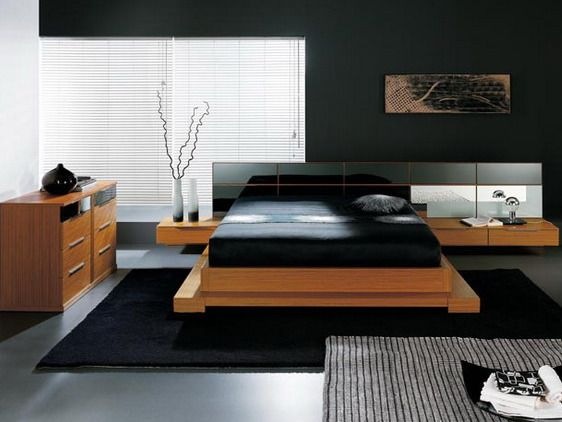 Single Bedroom Design Ideas Black Master Bedroom For Single Men