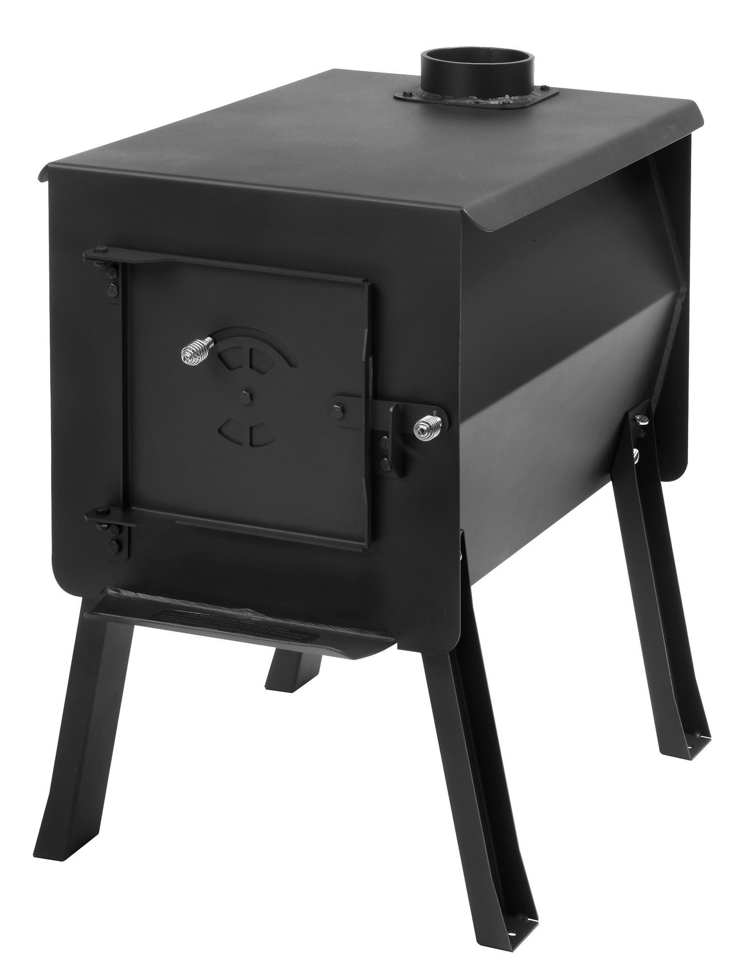 Grizzly Portable Camp Wood Stove | Outdoor stove, Portable ...
