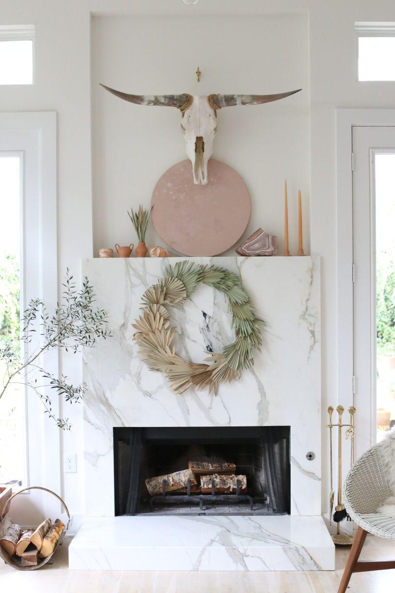 Diy Palm Wreath By Bows And Arrows Diy Home Decor Easy Diy