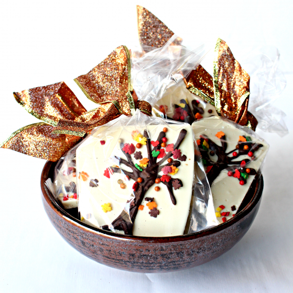 Thanksgiving White Chocolate Bark Recipe Thanksgiving 2018