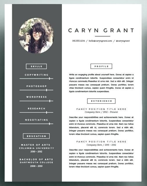 Cool Resume Templates Best Nice Resume Template With Additional Nice Resume Template
