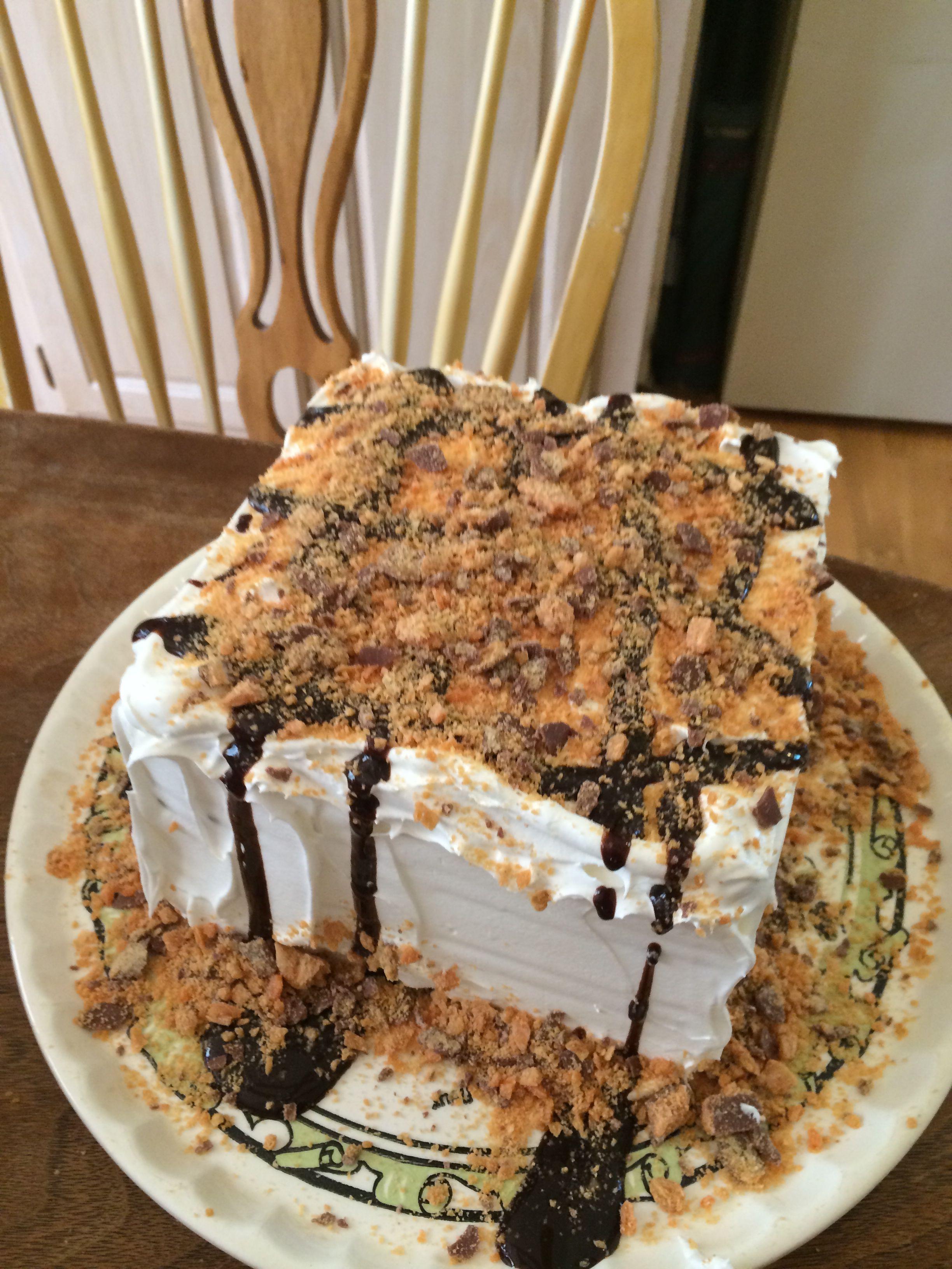 The Icecream cake I made