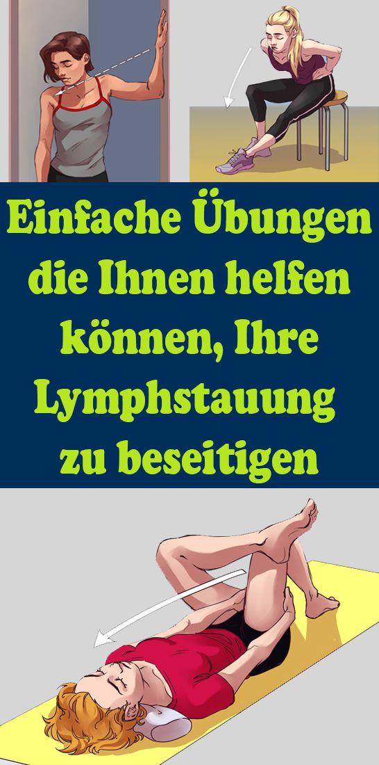 Photo of Einfache Übungen, die Ihnen helfen können, Ihre Lymphstauung zu beseitigen