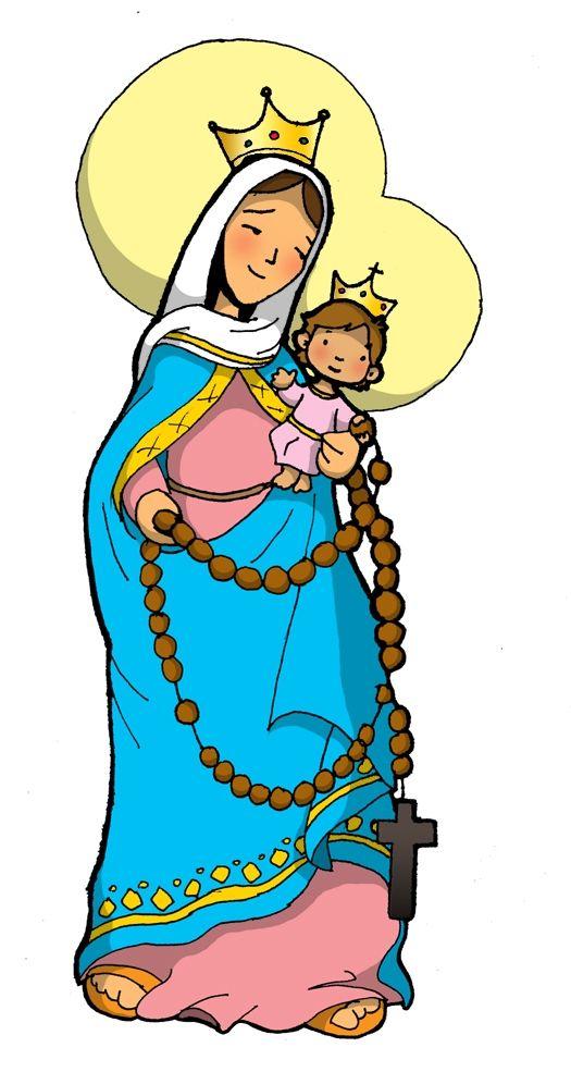 Virgen Del Rosario Virgenes Virgen De Las Mercedes Virgen Maria
