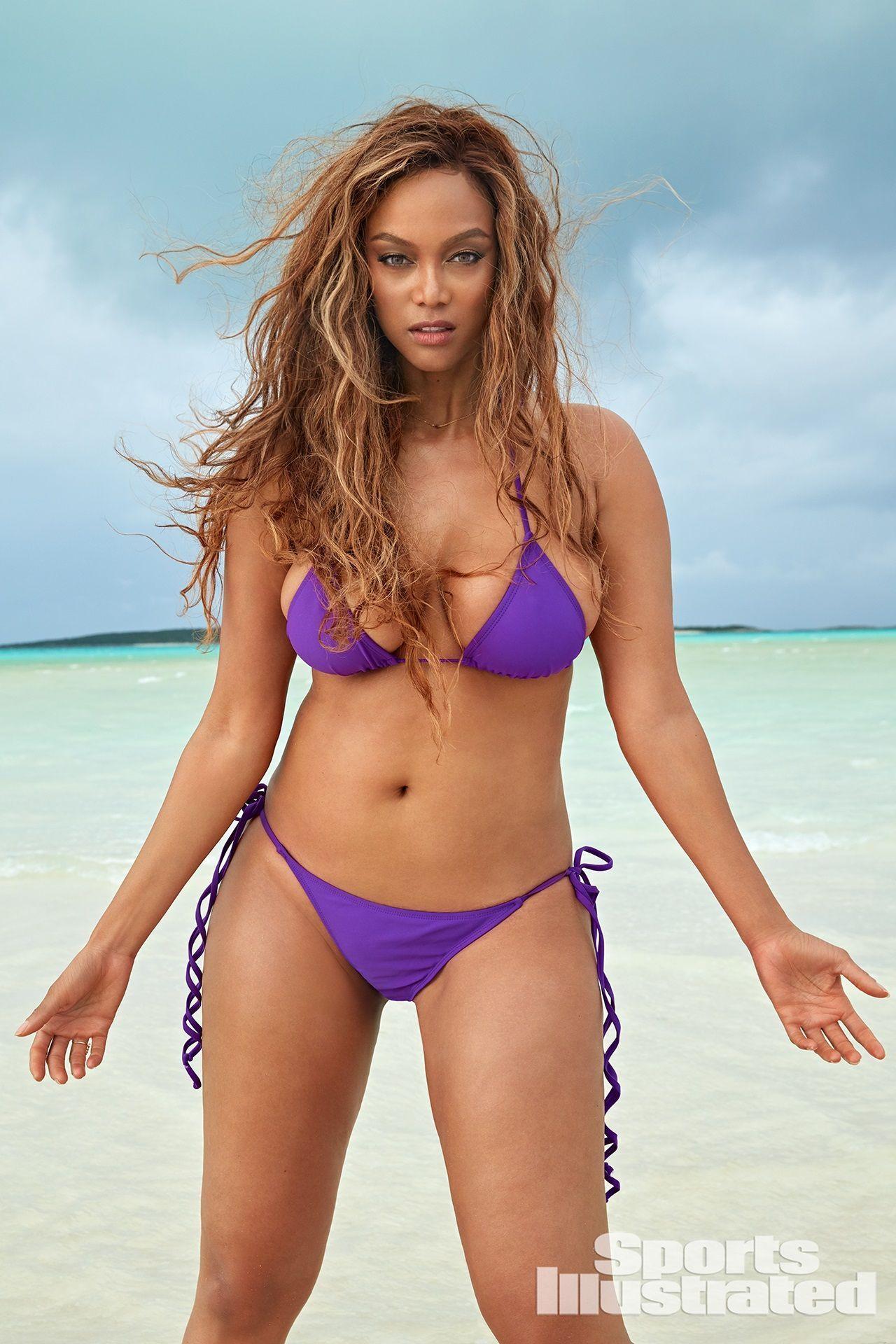 Tyra Banks Sports Illustrated Swimsuit 2019 Bikini Photoshoot Swimwear Sports Illustrated Swimsuit