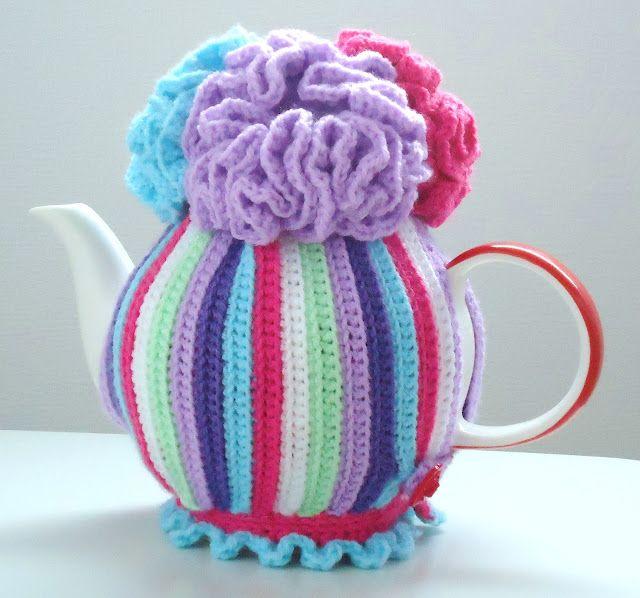 Crochet tea cosy pattern | crochet | Pinterest | Teteras, Tejido y ...