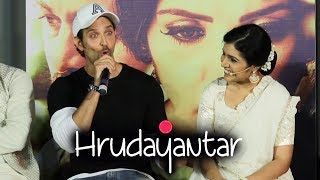 Hrithikinspires  F F A  F F   Must Watch Hrithik Roshan Funny Moment On Speaking Marathi In Hrudayantar Youngberry